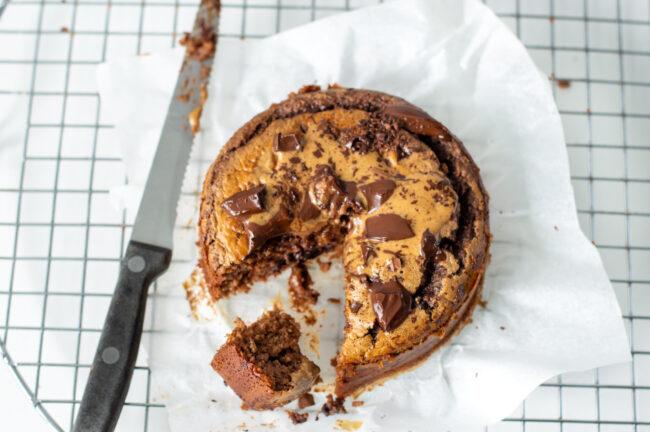 recept chocoladetaartje met havermout en amandel © bettyskitchen.nl