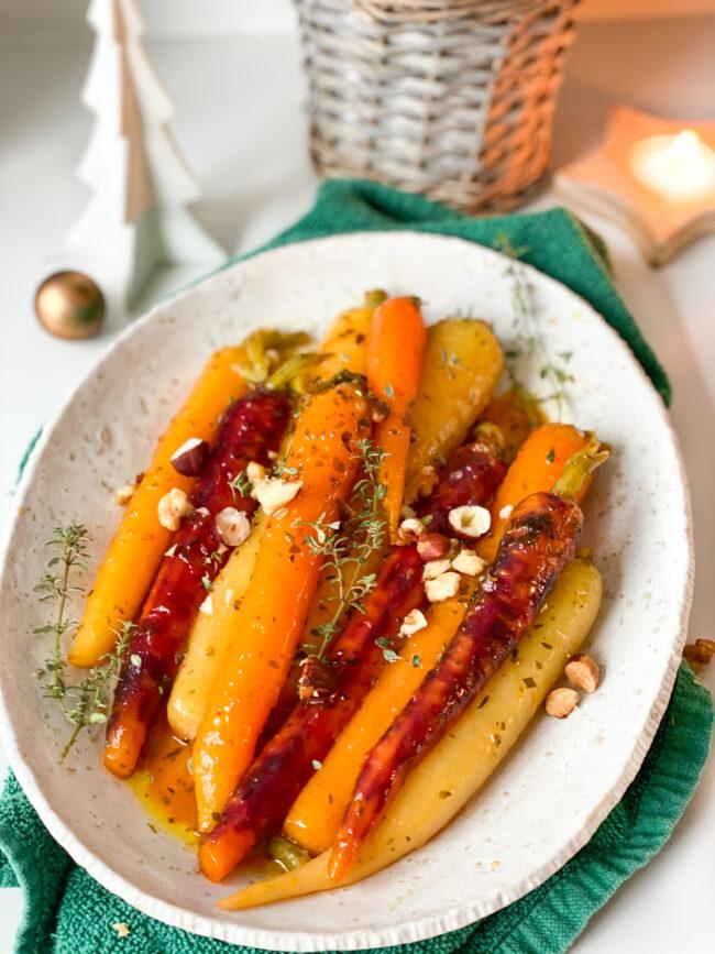 recept geglaceerde worteltjes met honing en sinaasappel © bettyskitchen.nl
