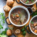 recept vegetarische stoofvlees met aubergines en paddestoelen © bettyskitchen.nl