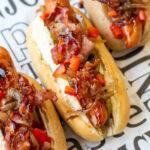5x hotdogs recepten BBQ bacon © bettyskitchen.nl