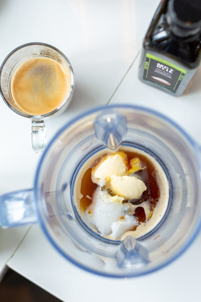 recept voor bulletproof koffie keto © bettyskitchen.nl