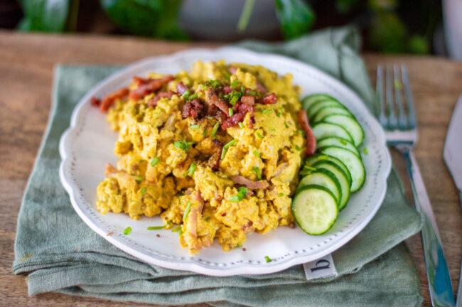 recept kerrie eieren met spek © bettyskitchen.nl