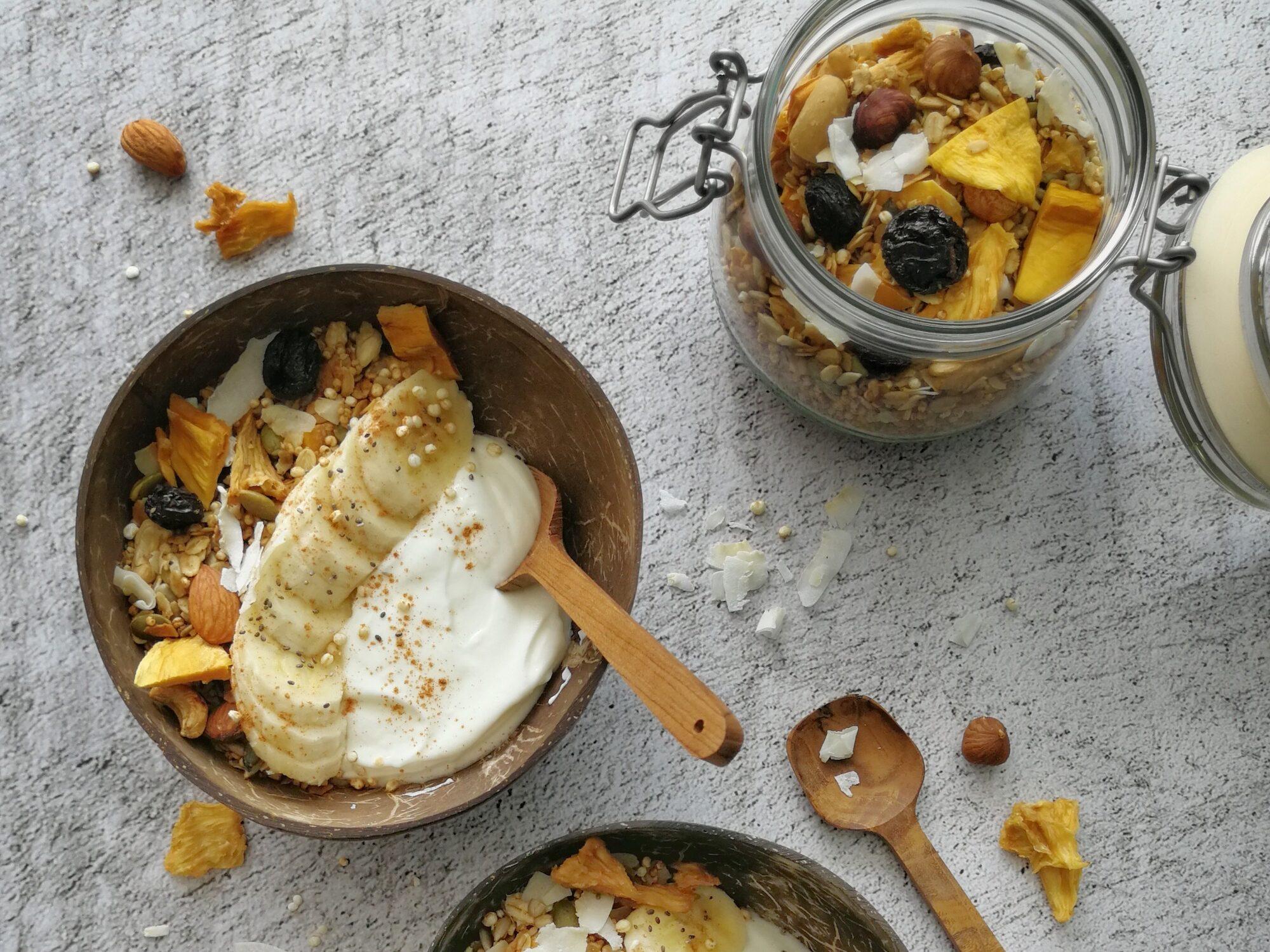 recept tropical granola maken © bettyskitchen.nl
