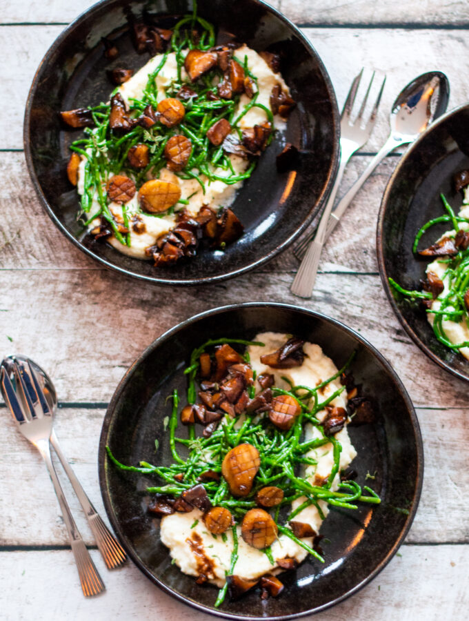 recept vegan coquilles van koningsoesterzwam © bettyskitchen.nl