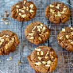 recept vegan pindakaas koekjes met appel en speltmeel © bettyskitchen.nl