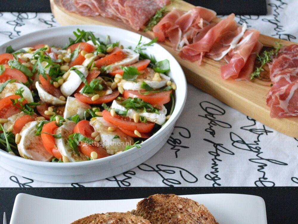 recept caprese salade © bettyskitchen.nl