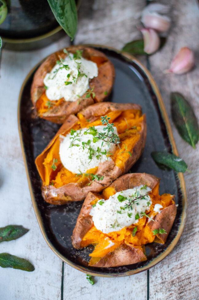 recept gepofte zoete aardappel maken © bettyskitchen.nl