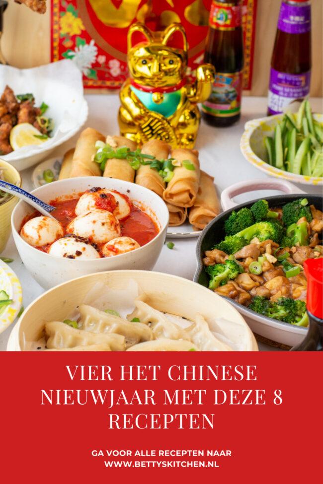 Vier het Chinese nieuwjaar met deze gerechten noodles noedels