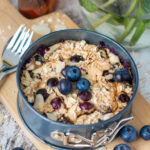 recept blueberry baked oats © bettyskitchen.nl