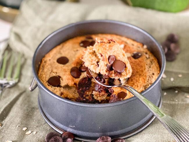 recept chocolate chip baked oats © bettyskitchen.nl