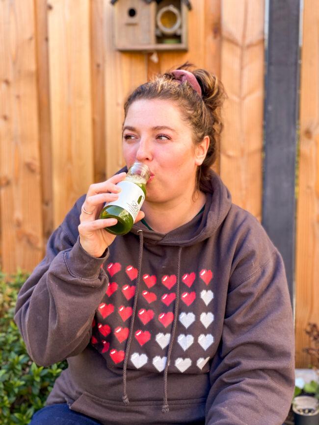 juices drinken voor detox kuur sapvasten review