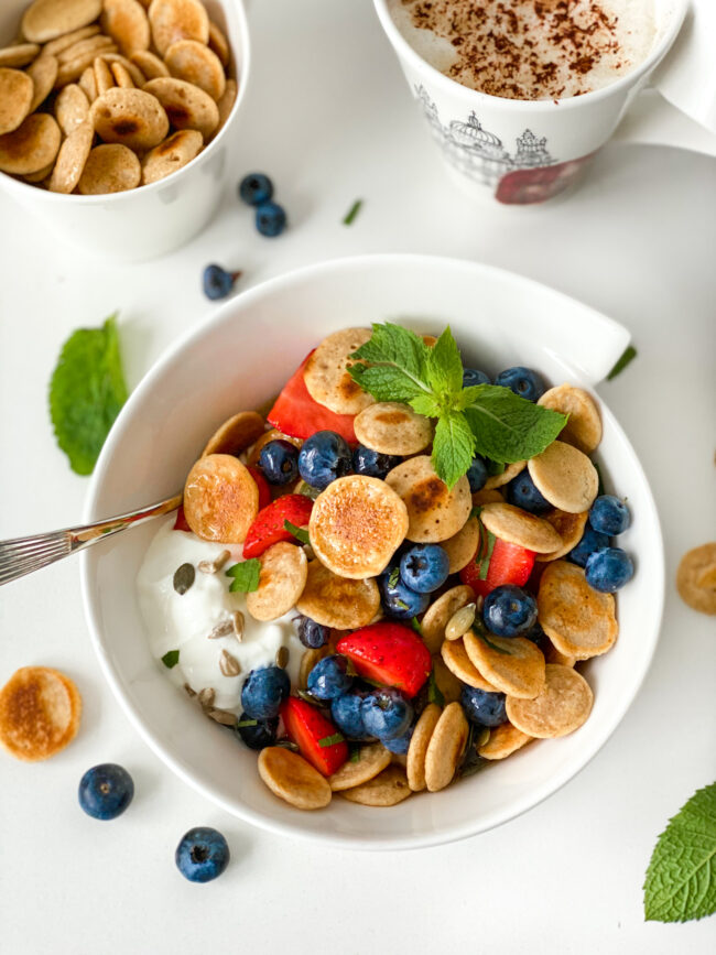 recept pancake cereal ontbijt © bettyskitchen.nl