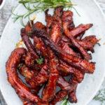 recept iberische ribfingers van de barbecue