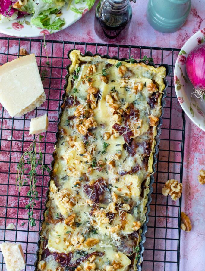 recept vierkazen quiche met port © bettyskitchen.nl