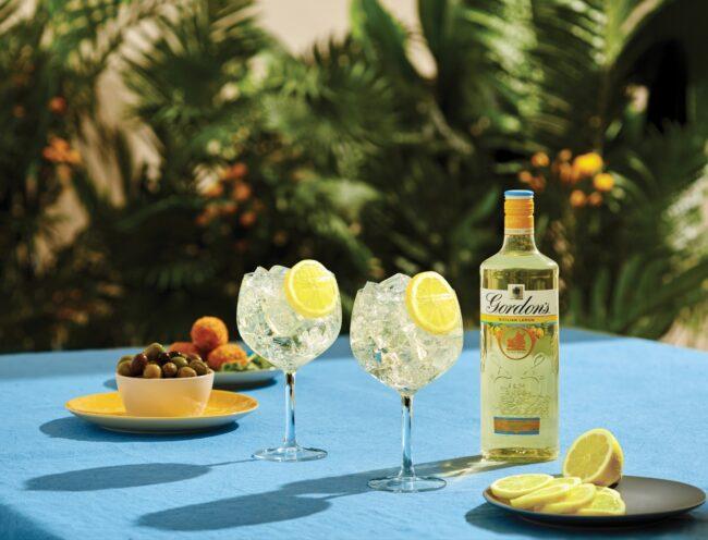 Gordon's Sicilian Lemon gin