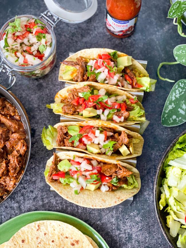 recept chipotle beef tacos met vlees © bettyskitchen.nl