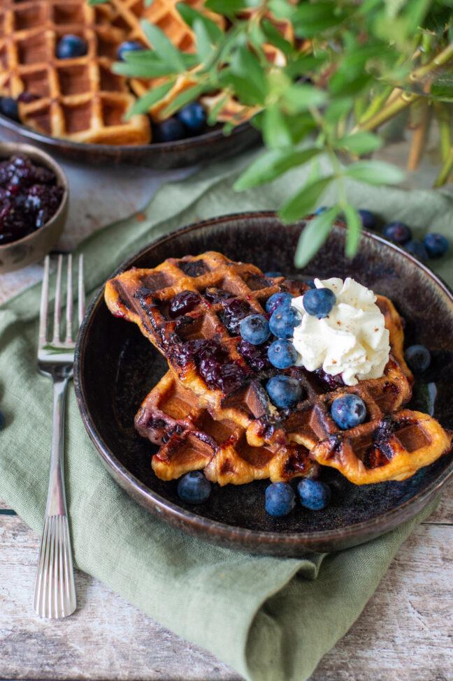 recept croiffles met blauwe bessen © bettyskitchen.nl