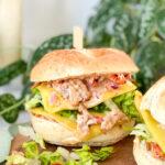 recept tuna melt sandwich © bettyskitchen.nl