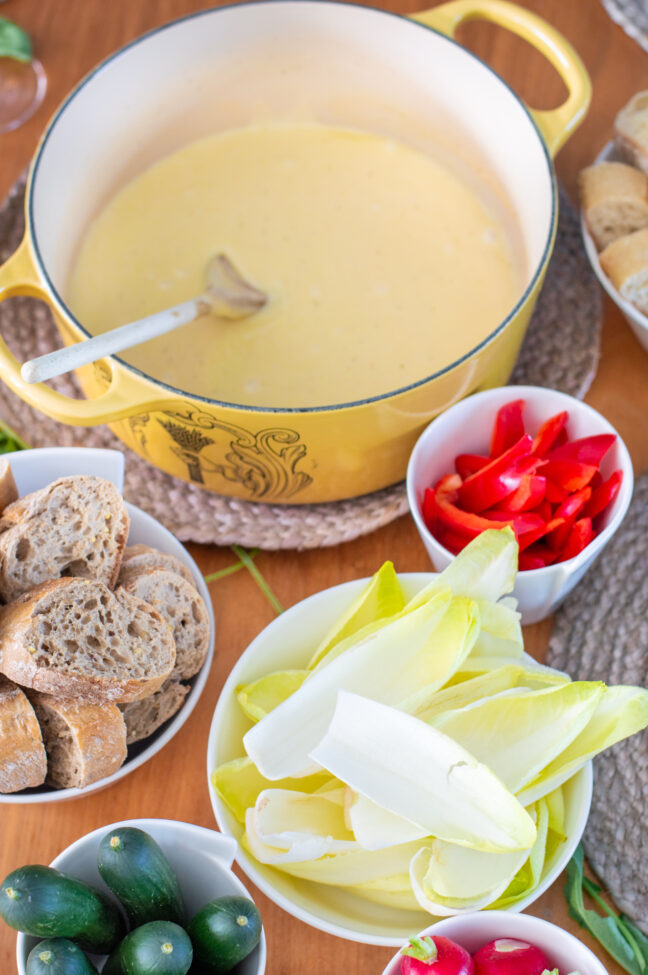 recept zwitserse kaasfondue maken © bettyskitchen.nl