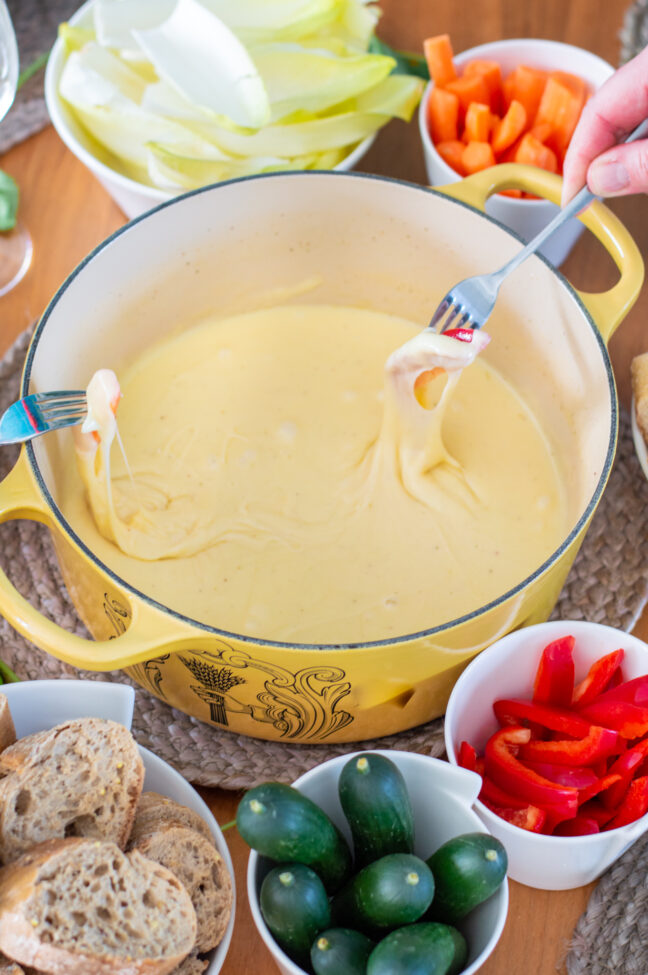 recept zwitserse kaasfondue © bettyskitchen.nl