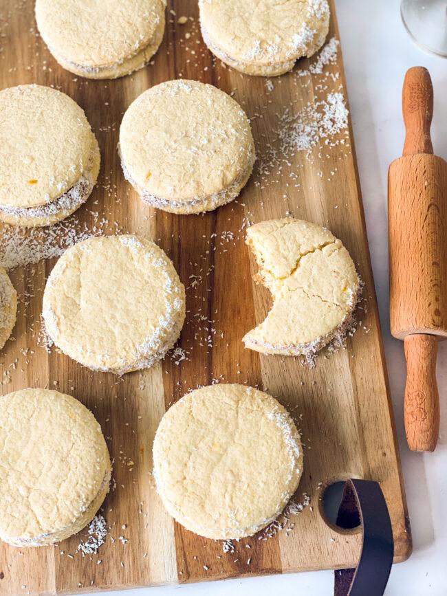recept alfajores koekjes met karamel © bettyskitchen.nl