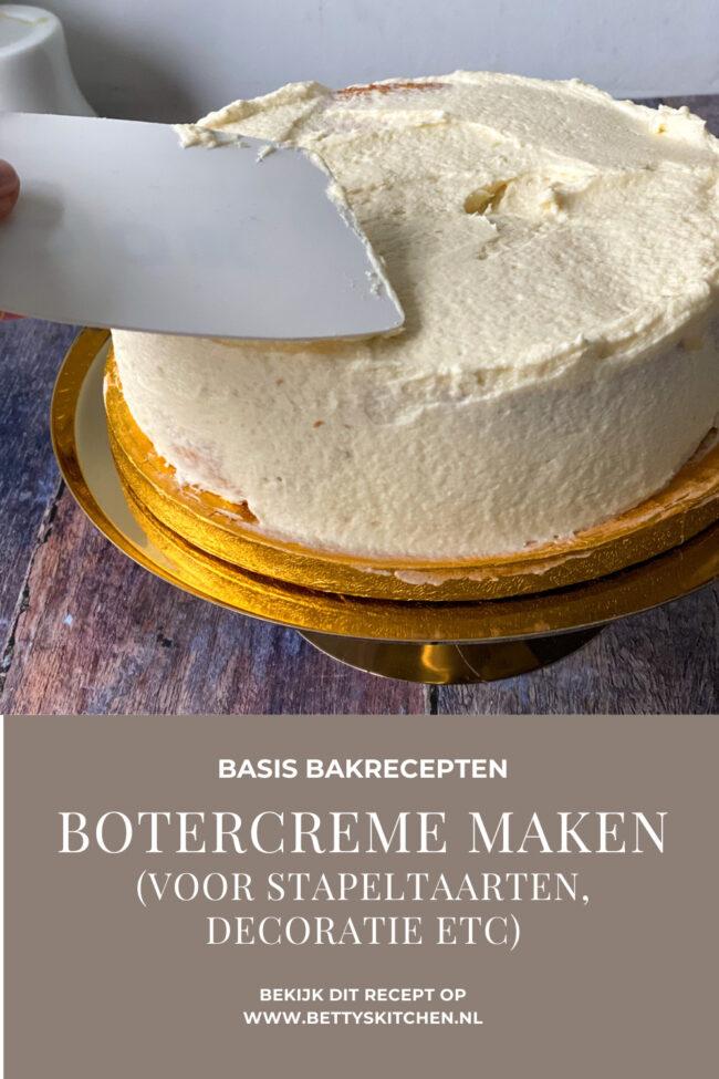 recept zelf botercreme met vanille maken © bettyskitchen