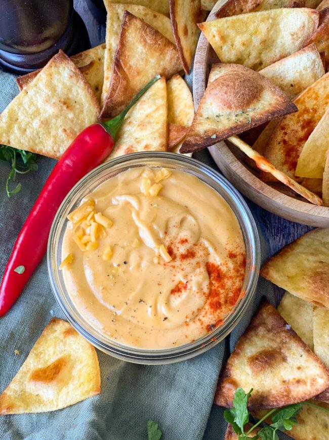 recept cheddar cheese dip © bettyskitchen.nl
