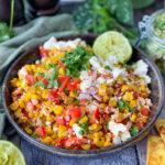 recept TexMex mais salade met feta en limoen © bettysktichen.nl