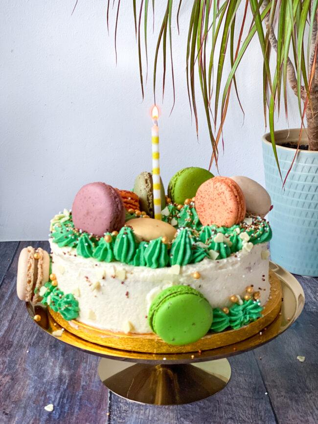 recept smash cake taart maken