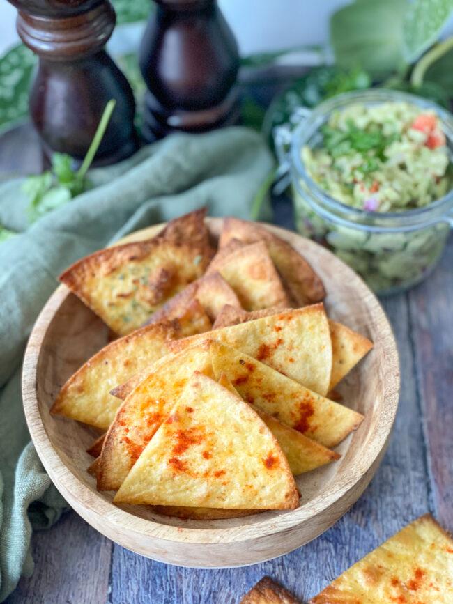 recept zelf tortilla chips maken © bettyskitchen.nl