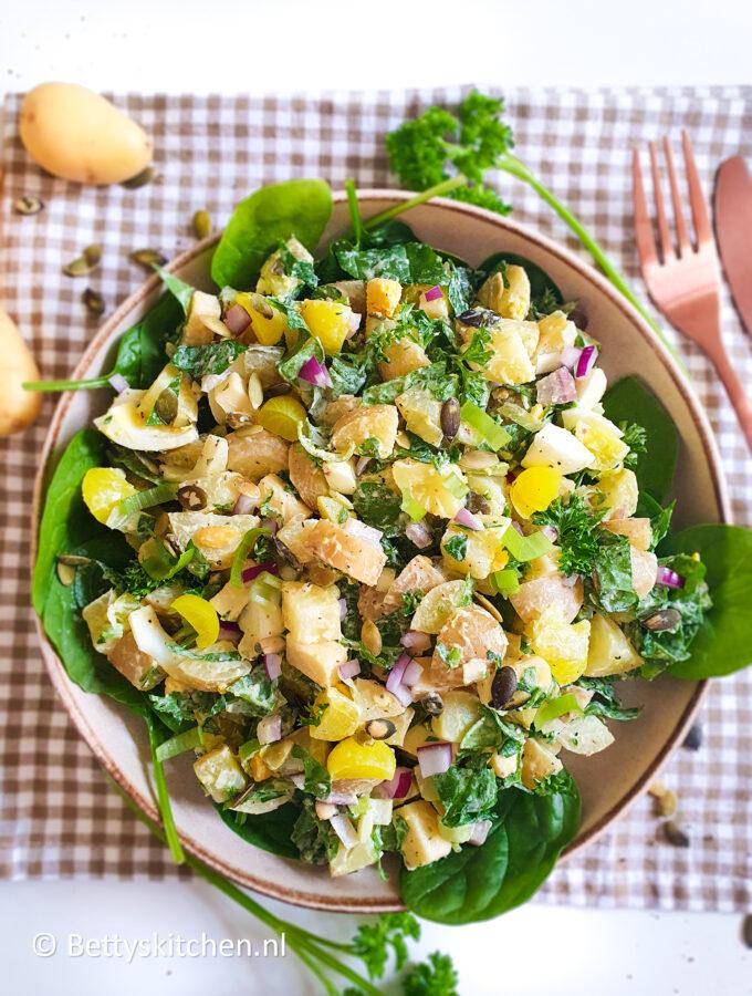recept aardappelsalade me ei en kaas © bettyskitchen.nl