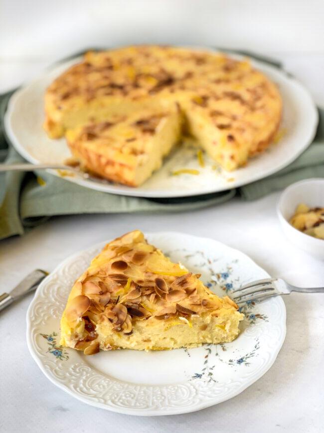 recept glutenvrije ricotta taart met citroen en amandel © bettyskitchen.nl
