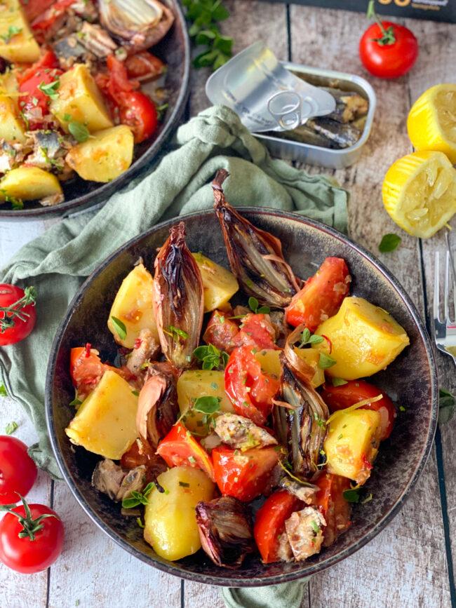 recept aardappel salade met sardines © bettyskitchen.nl