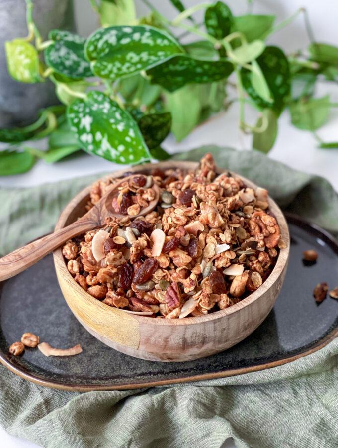recept granola met eiwit maken © bettyskitchen.nl
