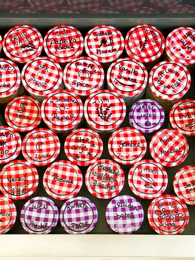 wat kun je doen met lege jampotjes © bettyskitchen.nl