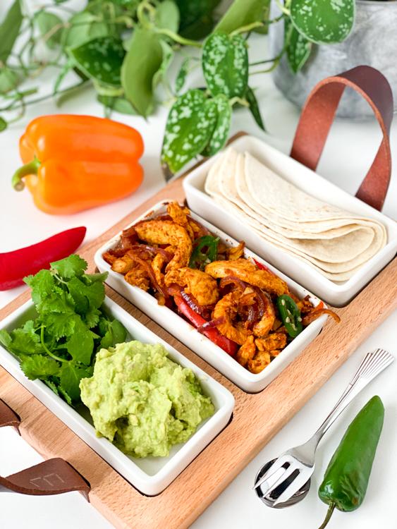 Recept fajitas met kip en paprika © bettyskitchen.n
