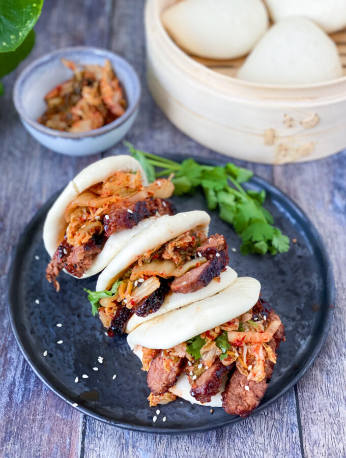 recept vegan korean beef bao met kimchi © bettyskitchen.nl