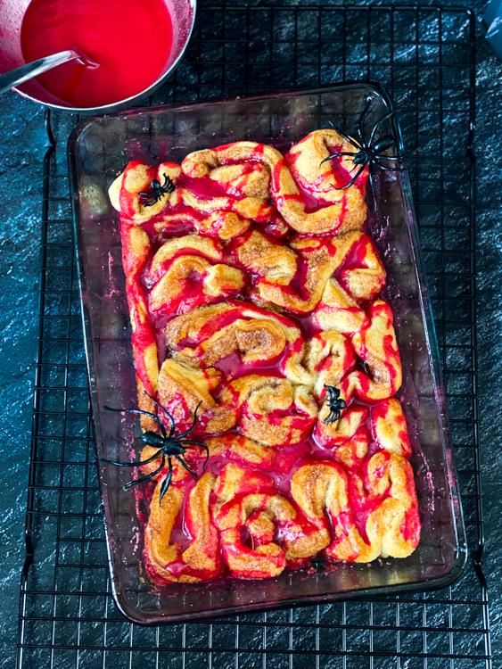 kaneelbrood halloween ontbijt © bettyskitchen.nl